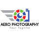 Aero Photography Logo Template