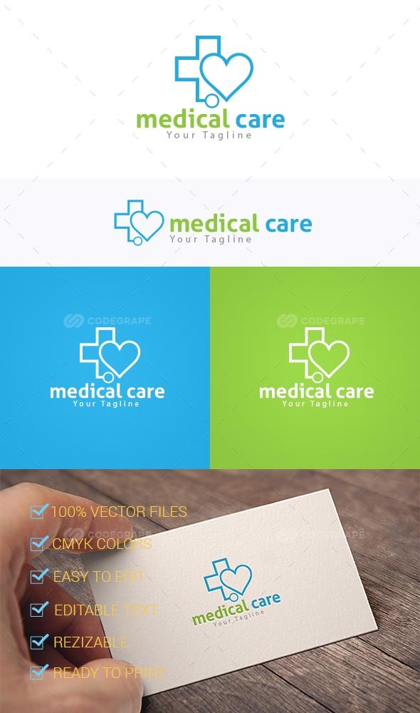 Medical Care Logo Templates