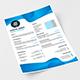 Pro Abstract Resume / CV