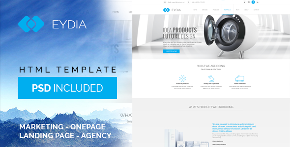 Eydia | Responsive Multi-Purpose HTML5 Template