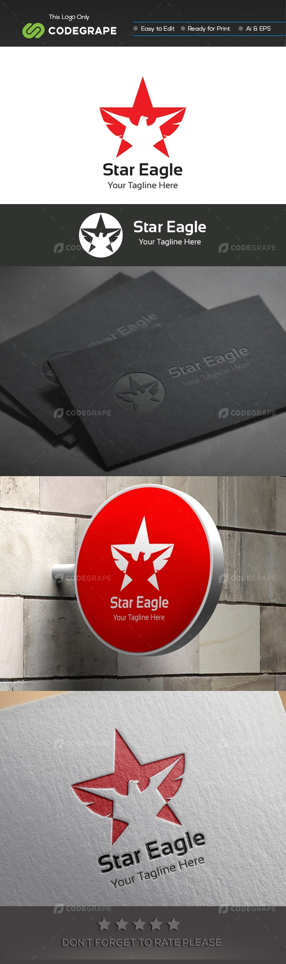 Star Eagle Logo