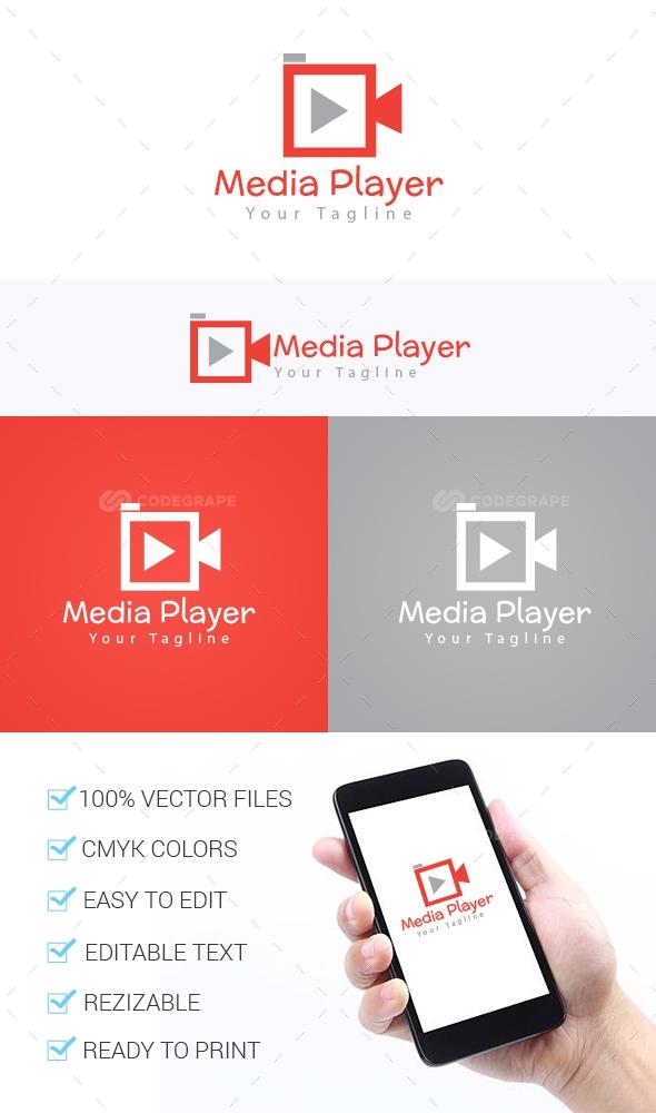Media Player Logo Template