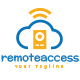 Remote Access Logo Template