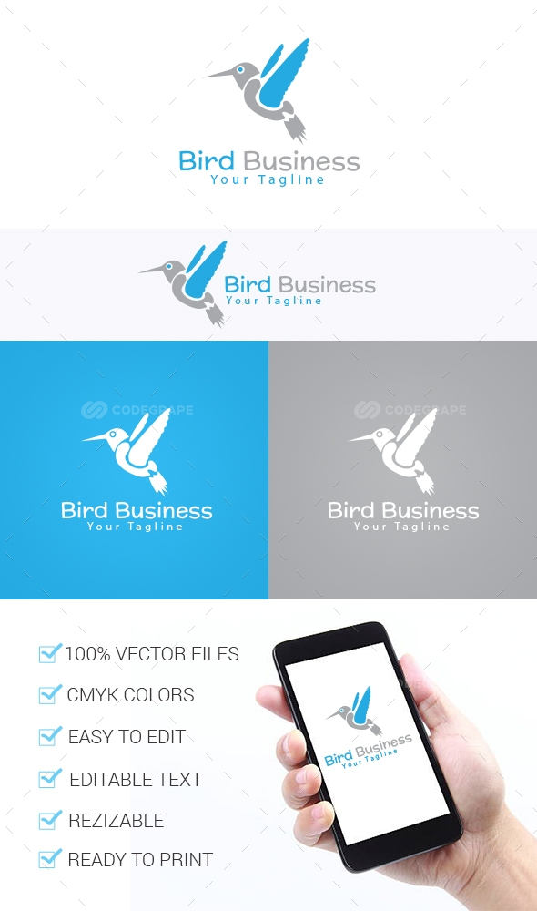 Bird Business Logo Template