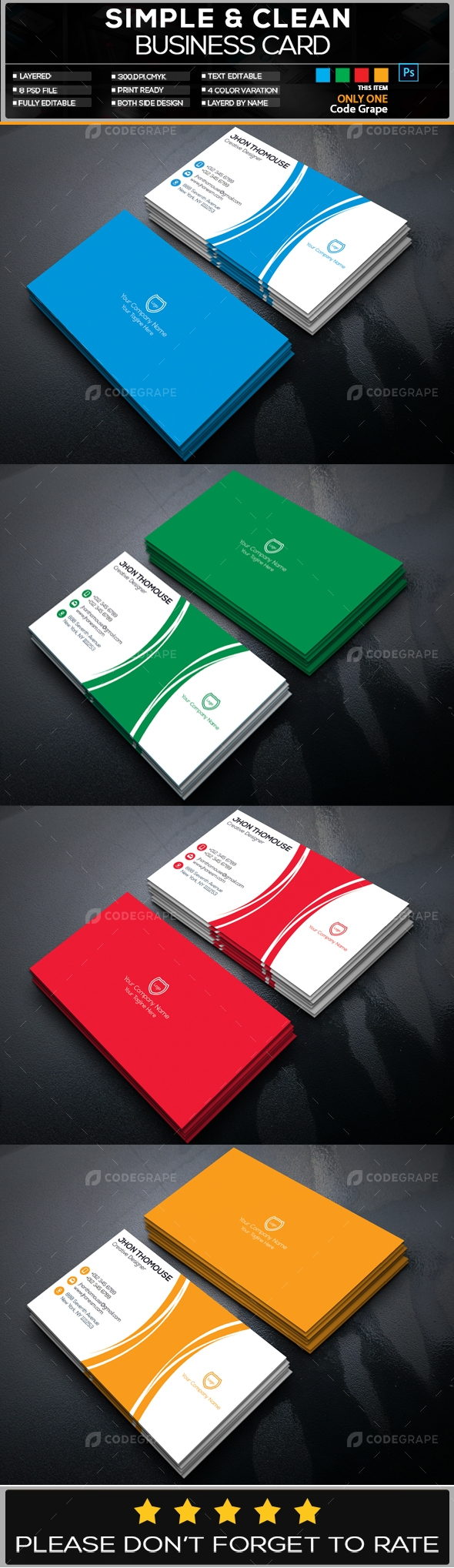 Business Card Vol - 4