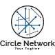 Circle Network Logo Template