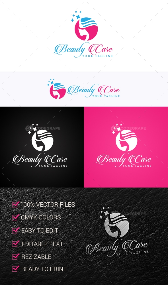 Beauty Care Logo Templates