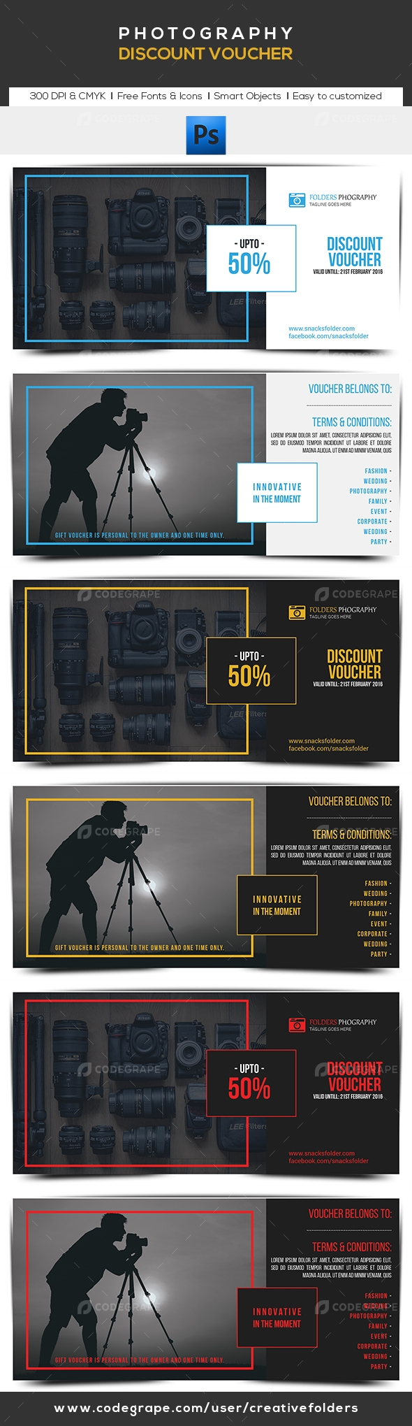 Photography Discount Voucher