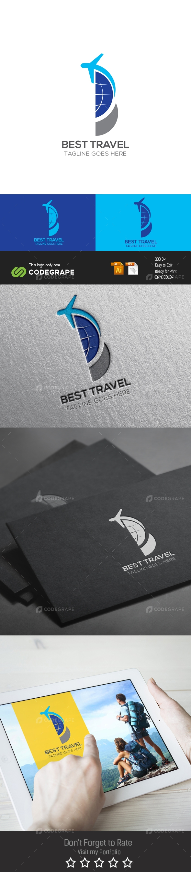Best Travel Logo
