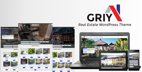 Griya - Real Estate WordPress Theme