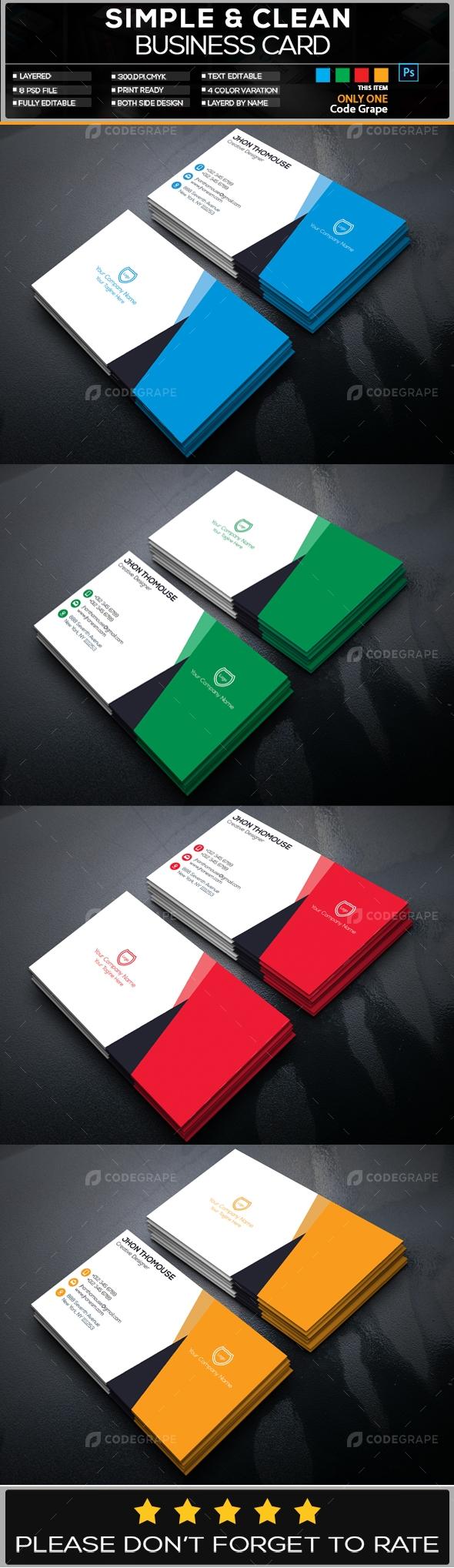 Creative Business Card Vol - 7
