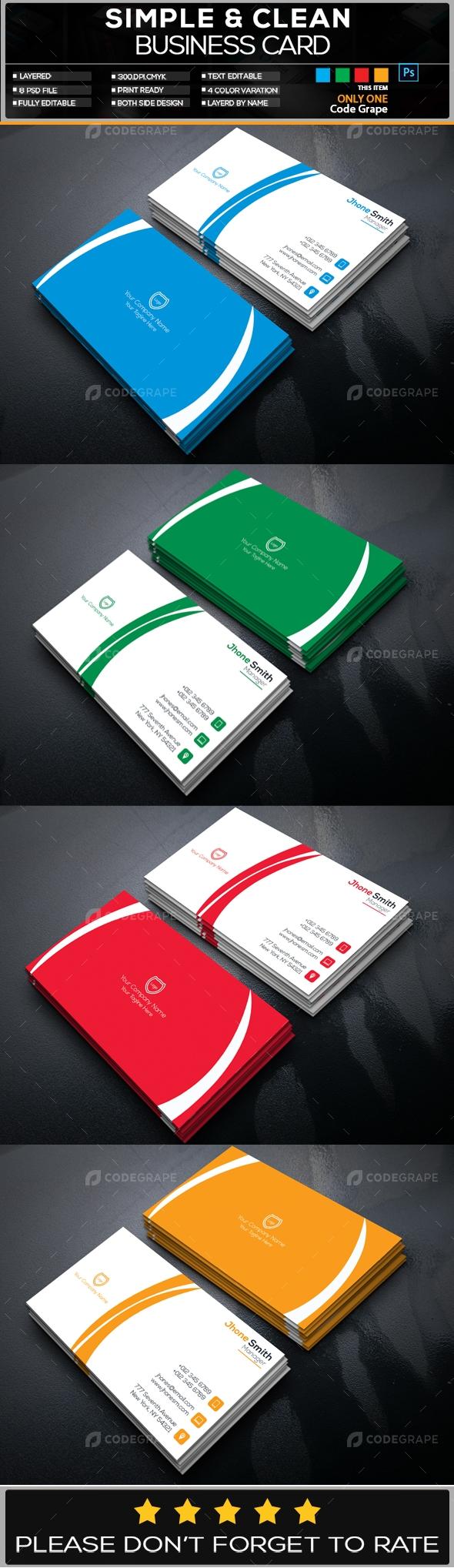 Creative Business Card Vol - 9