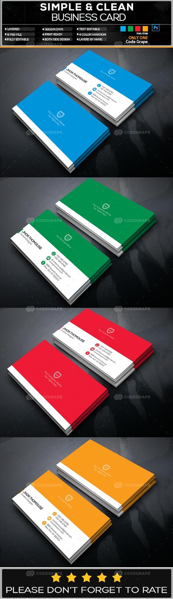 Creative Business Card Vol - 12