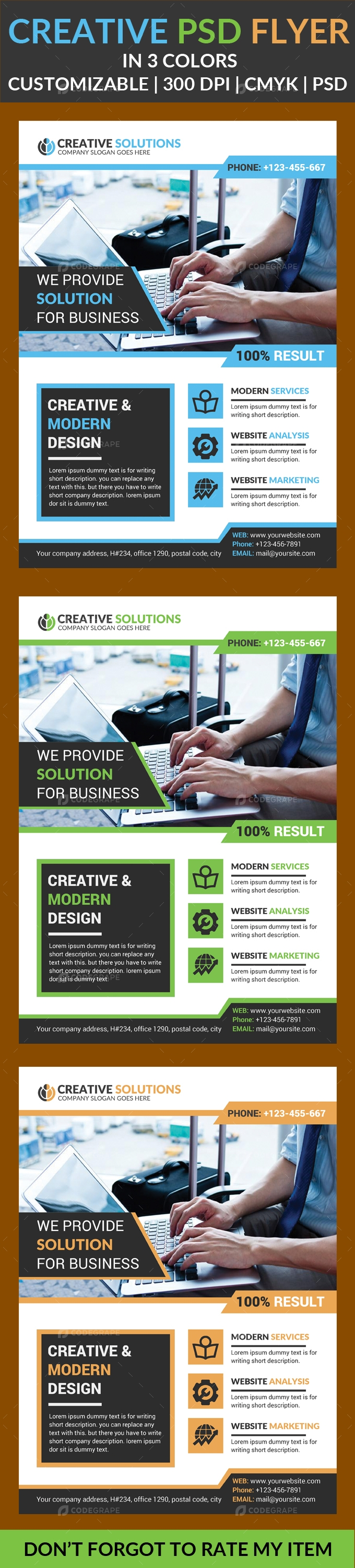 Creative PSD Flyer