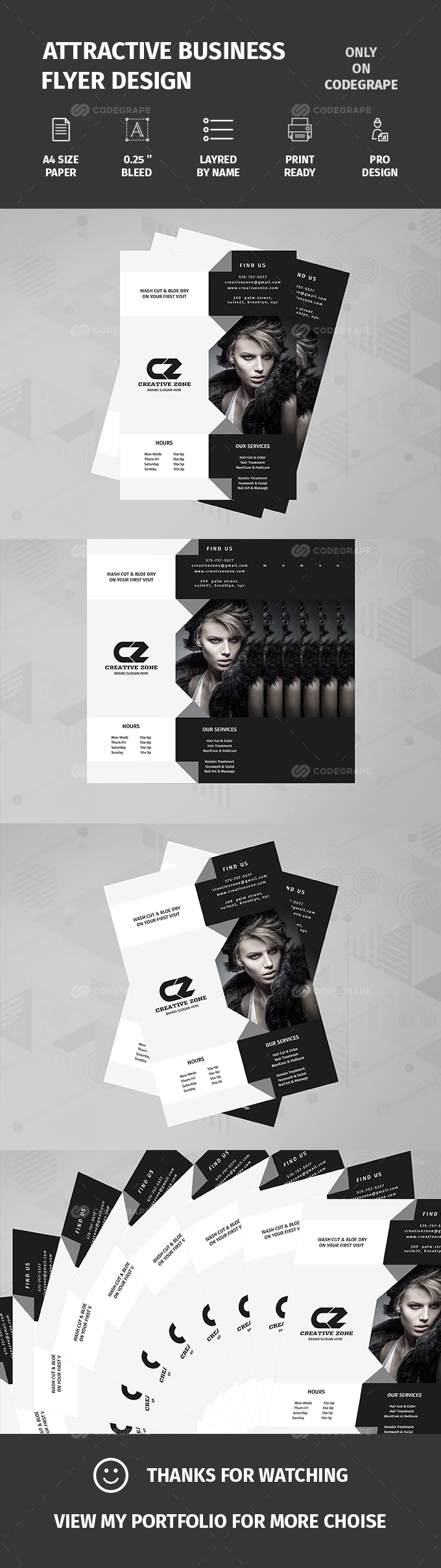 Attractive Business Flyer Design