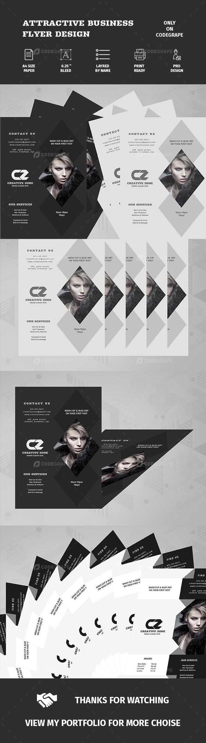 Attractive Business Flyer Design