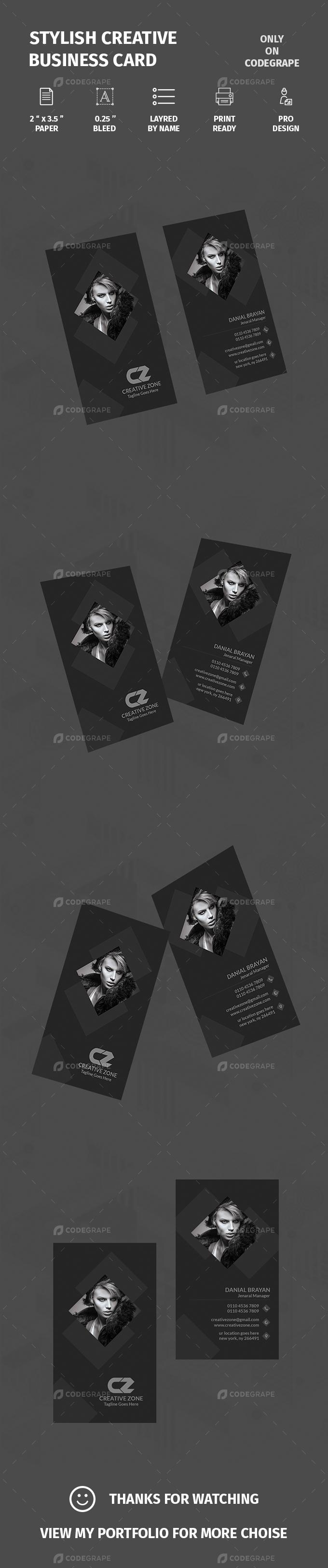 Stylish Creative Business Card