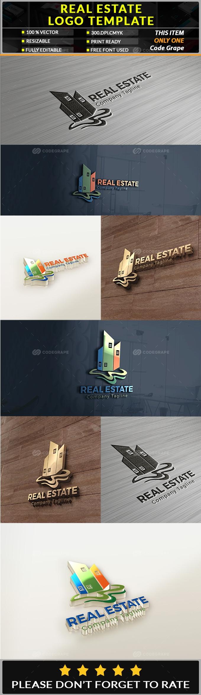 Real Estate Logo Templete