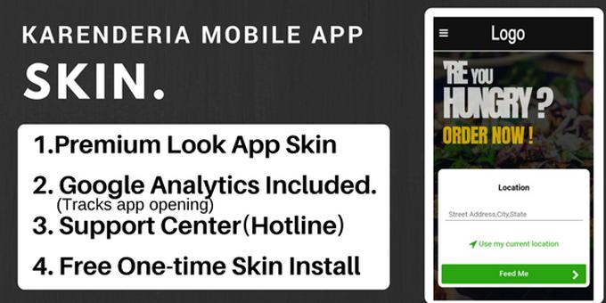 Karenderia Mobile App Skin