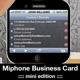 MiPhone Business Card Mini Edition