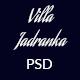 Villa Jadranka PSD Template