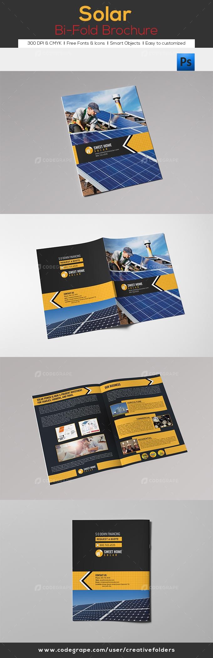 Solar Bi-Fold Brochure