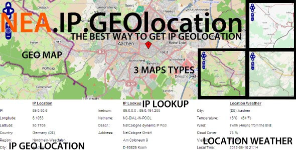 NEA IP GEOlocation