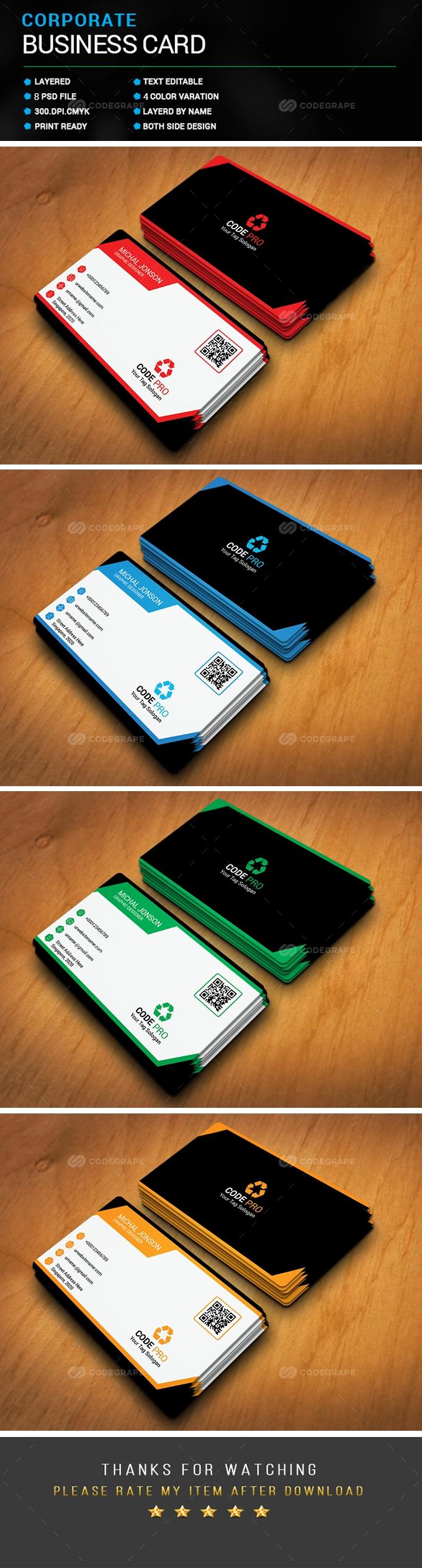 Corporate Business Card 4