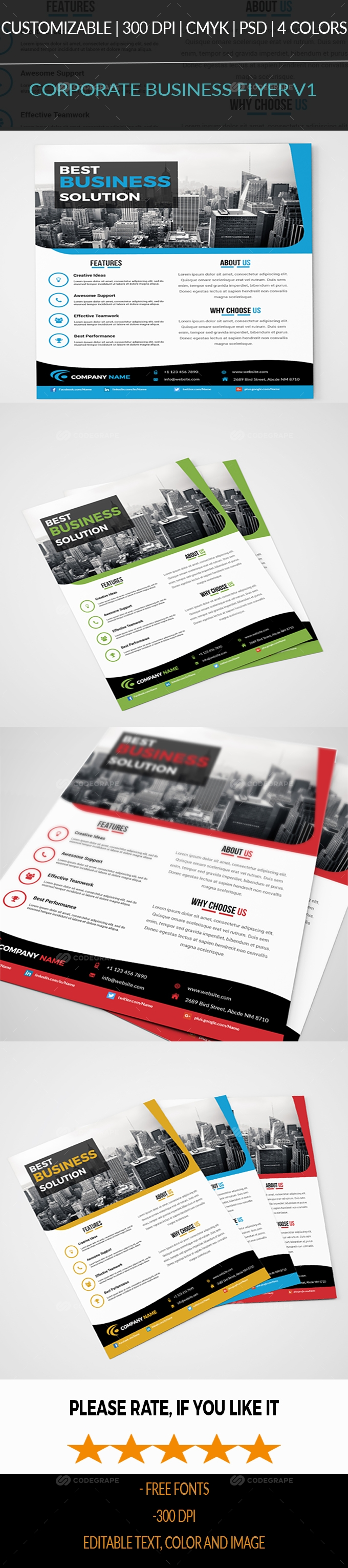 Corporate Business Flyer V1