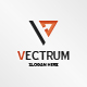 Vectrum Logo Design