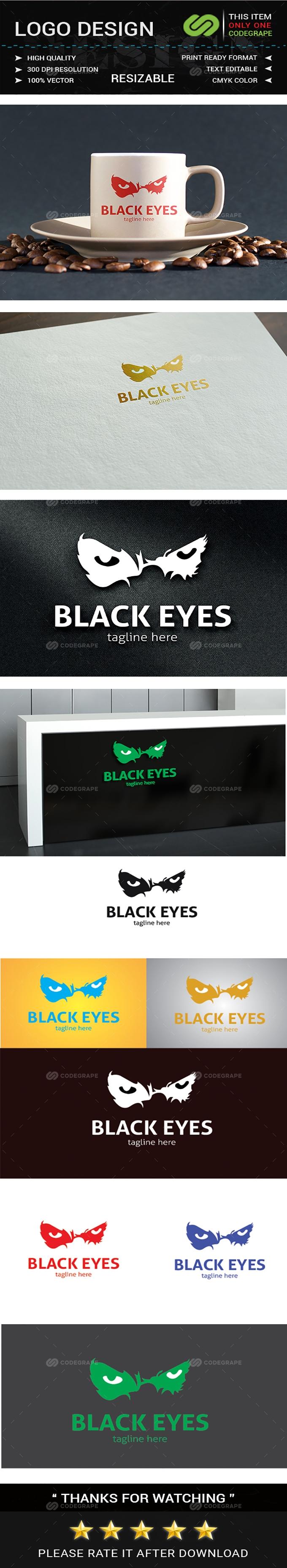 Black Eyes Logos