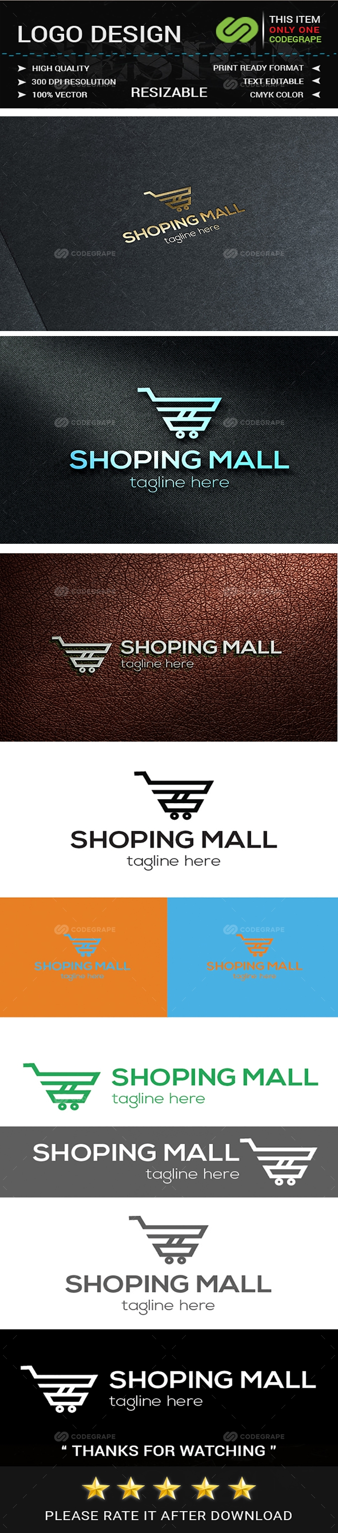 Shopping Mall Logo