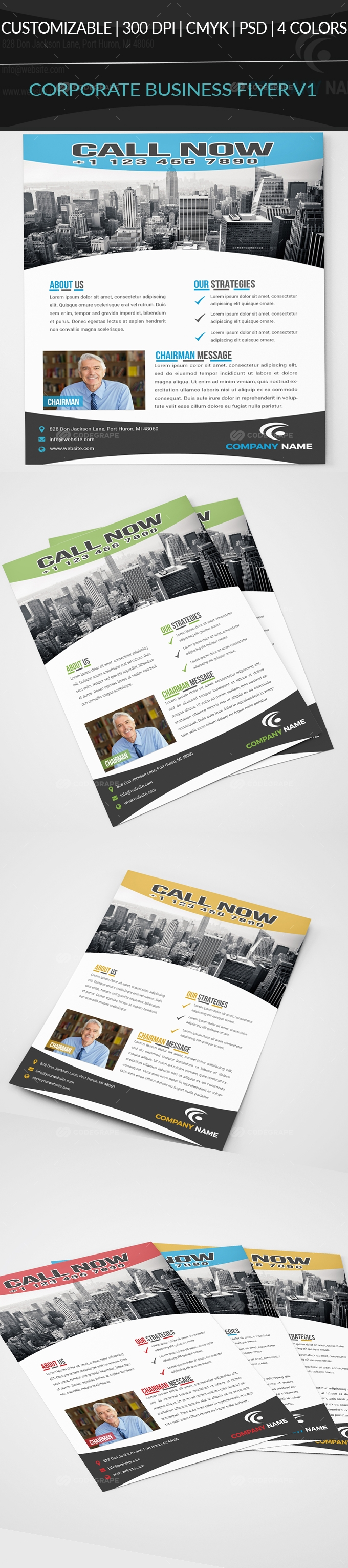 Corporate Business Flyer V3