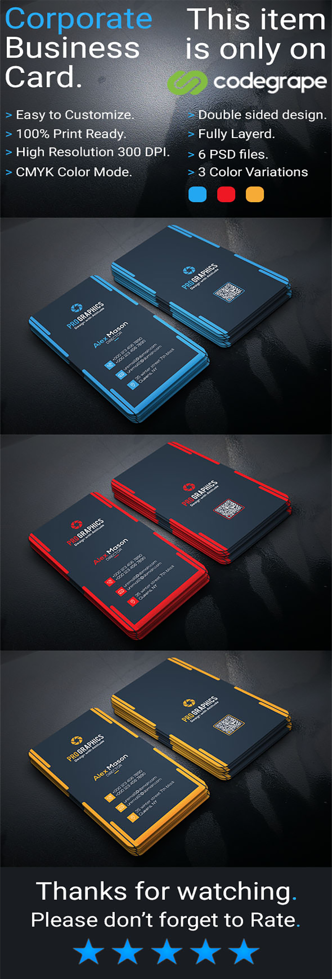 Corporate Business Card Vol 18