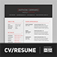 CV/Resume Template, Cover Letter and Business Card