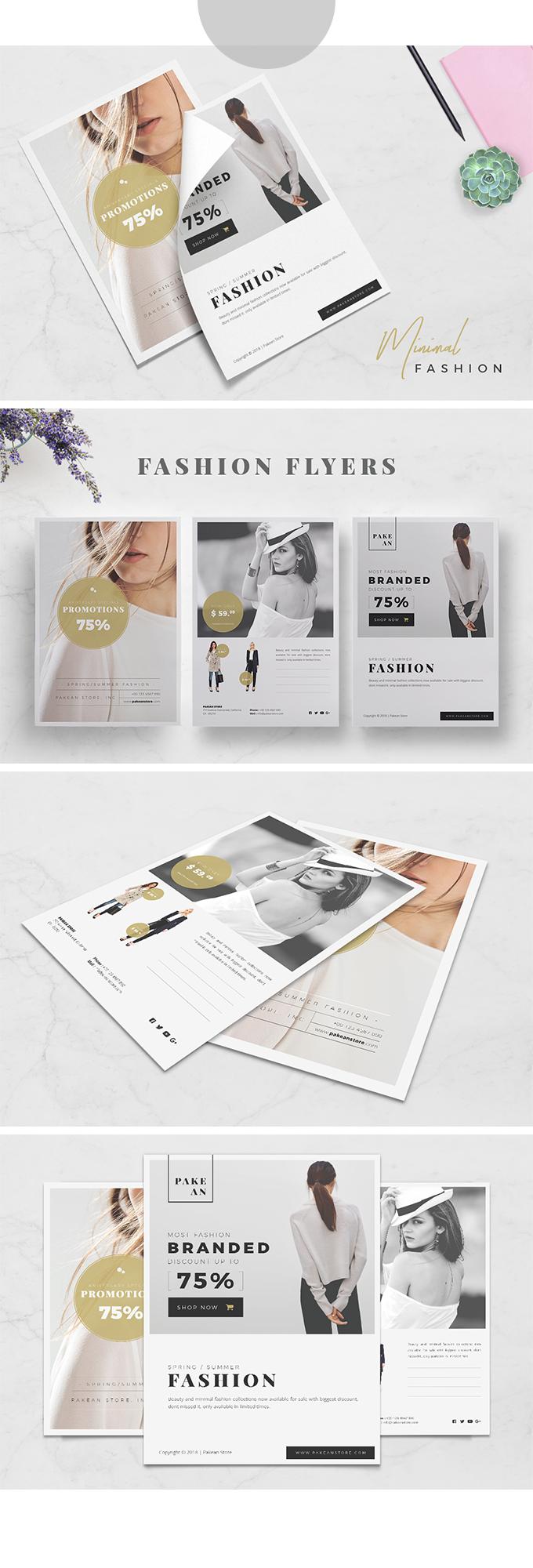 Minimal Fashion Flyer