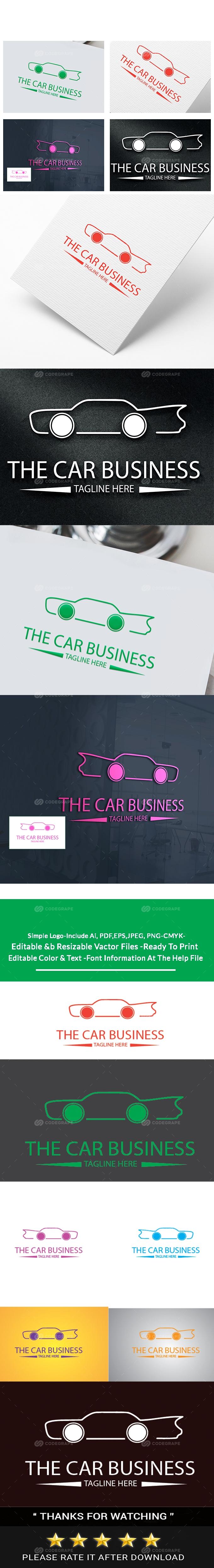 The Car Business Logo