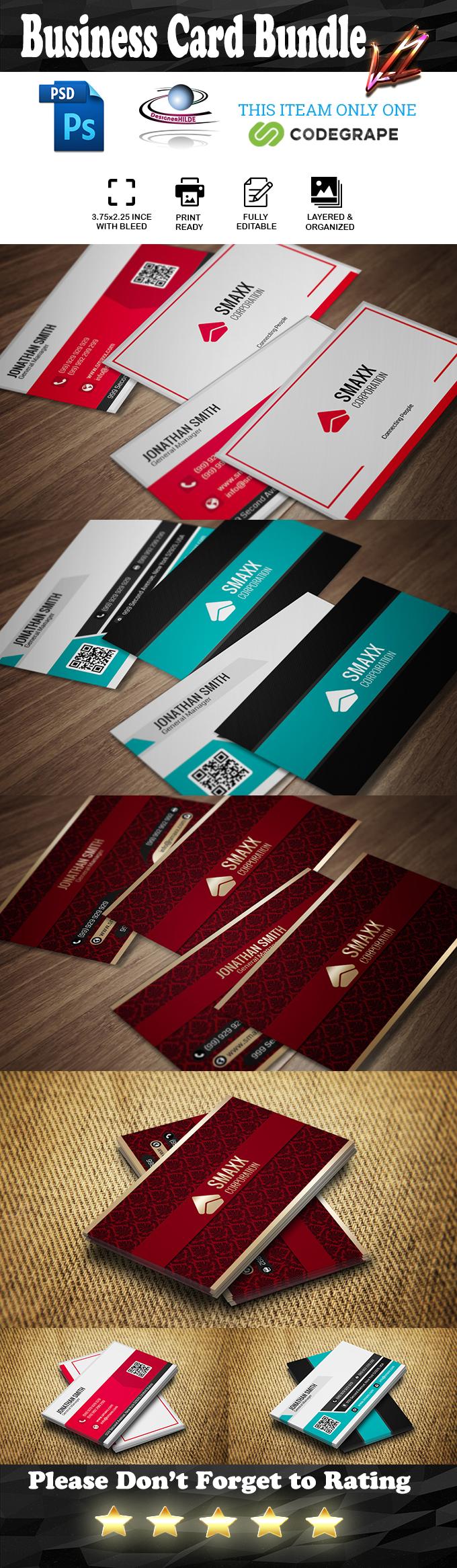 Business Card Bundle V.1