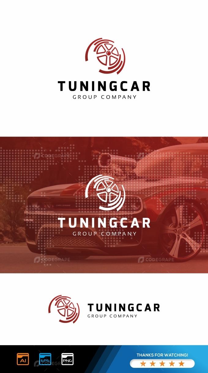 Tuning Car Logo