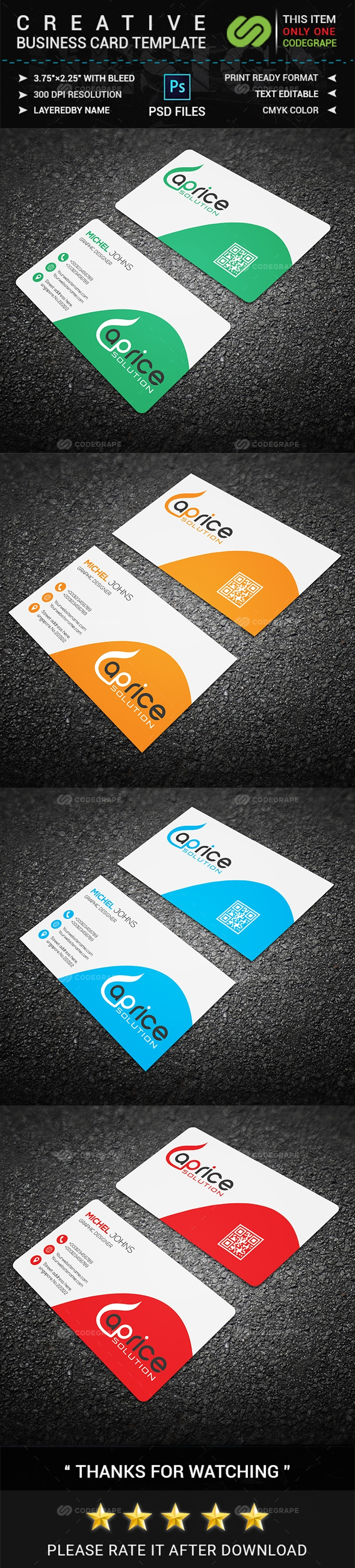 Creative Business Card 02