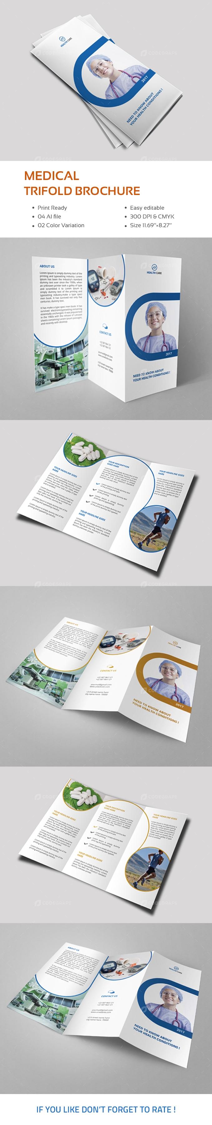Medical Tri-Fold Brochure