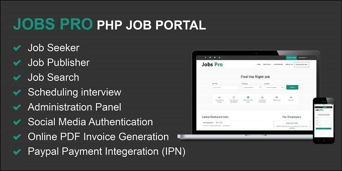 Jobs Pro PHP Job Portal