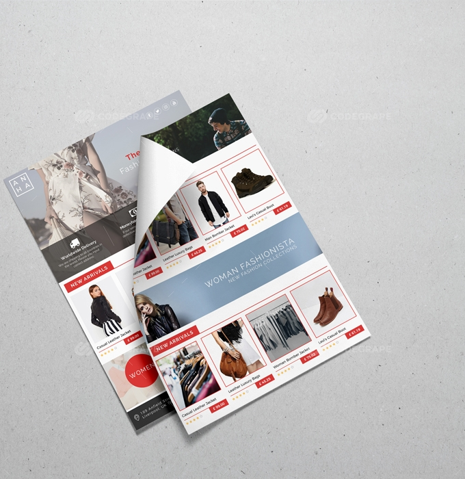 Multipurpose Fashion Flyer Template