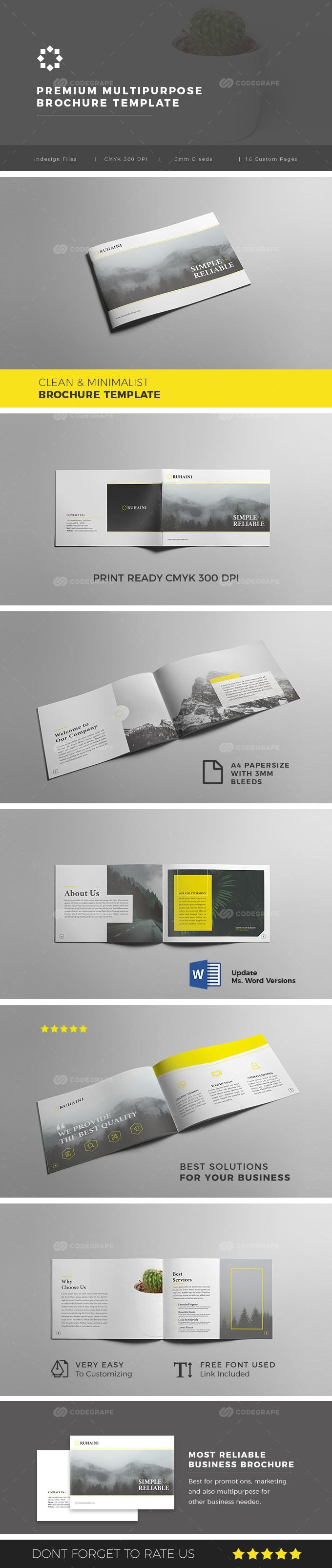 Multipurpose Business Brochure