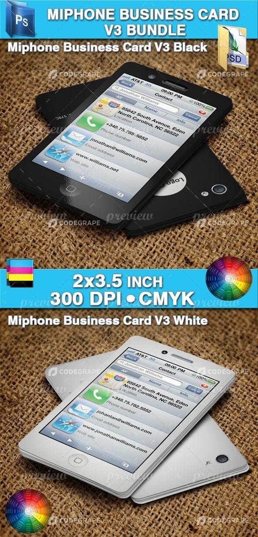Miphone Business Card V3 Bundle