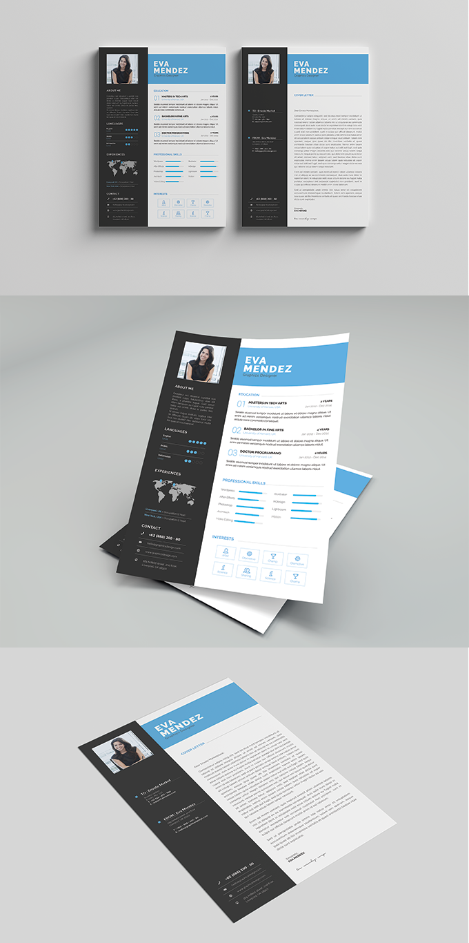 CV/Resume Template Vol. 01
