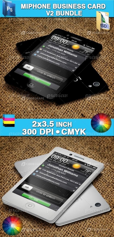 Miphone Business Card V2 Bundle