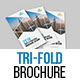 Corporate Tri-Fold Brochure Template 02