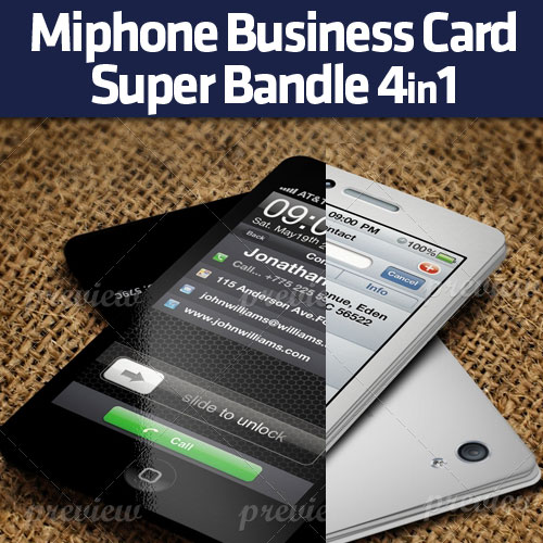 Miphone Business Card Super Bundle 4in1