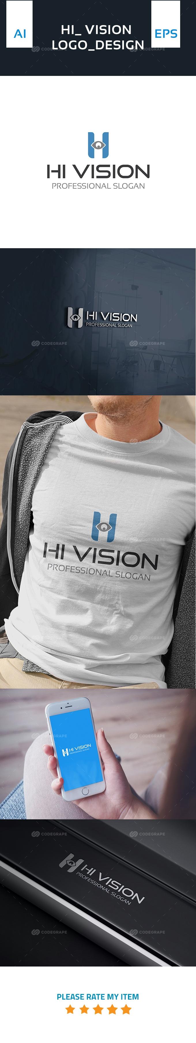 HI Vision Logo